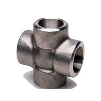 Mild Steel Socket Weld Equal Cross