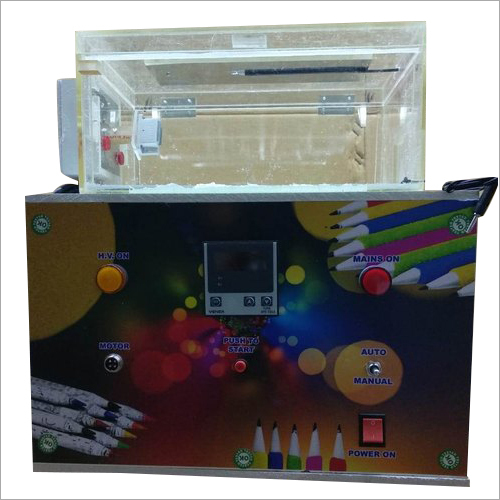 Semi Automatic Velvet Pencil Making Machine
