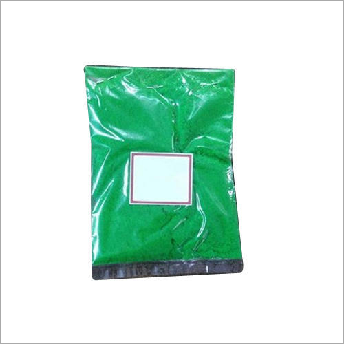 Green Color Velvet Powder