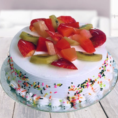 Fresh Mix Fruit Cake