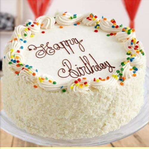 White Foresh Cake