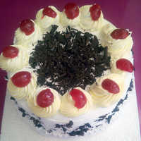 Creamy Black Forest Cake