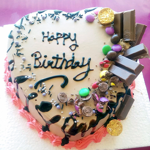 Chocolate Cadbury Birthday Cake