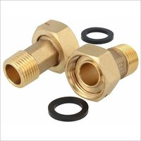 Brass Water Meter Coupling And Nut