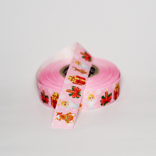 Leaf Printed Ribbons
