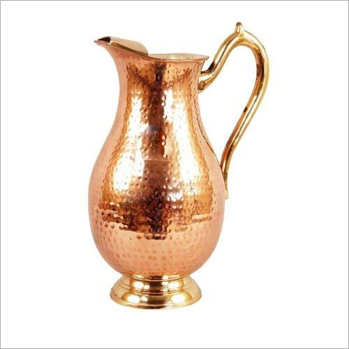 Copper Seamless Jug