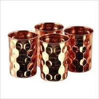 Copper Diamond Glass