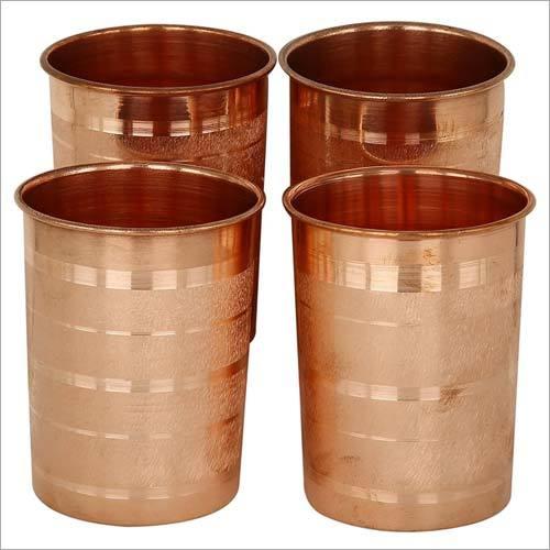 Copper Stripped  Glass