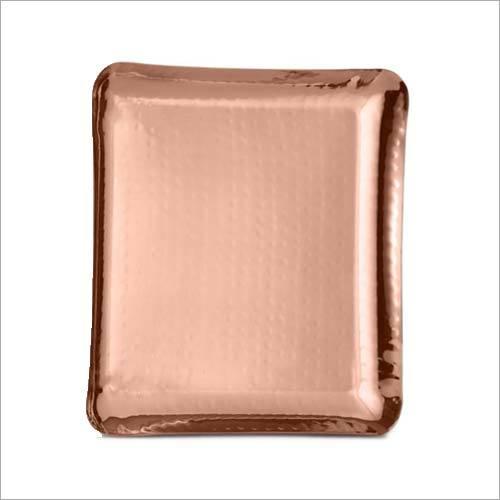 Copper Square Platter