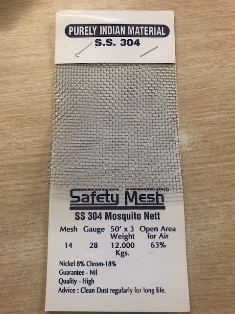 SS304 Mosquito Net