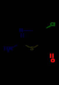 2-Amino-4-chlorothiazole-5-carbaldehyde