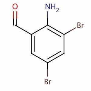 2-Amino-3,5-dibromobenzaldehyde