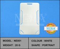 ID CARD HOLDER WHITE