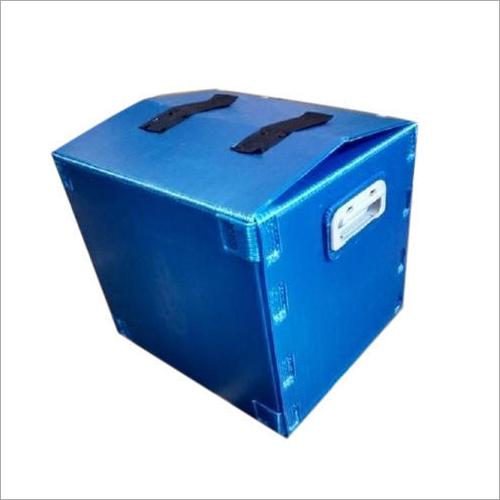 Blue PP Corrugated Box