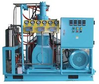 High Pressure Reciprocating Oxygen Compressor Booster