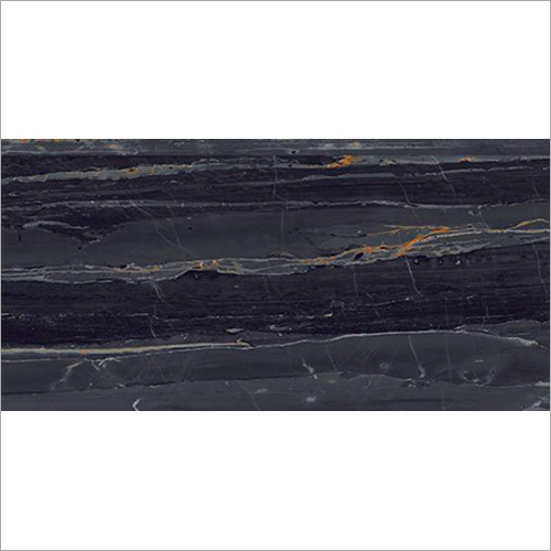 Linea Black High Glossy Tile