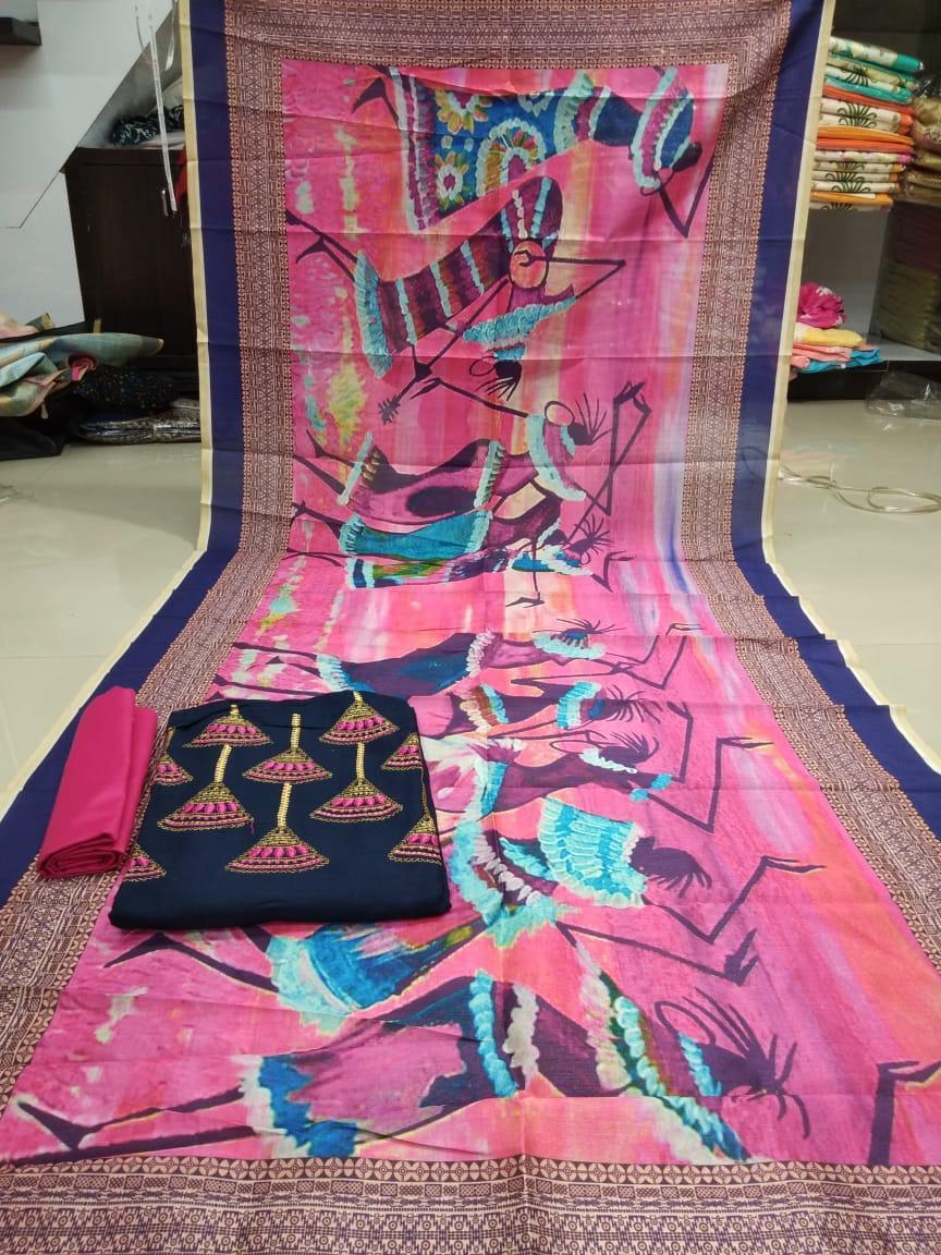 digital print dress material