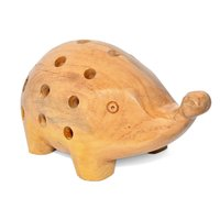 Home Decorative Wooden Pig Pencil Holder