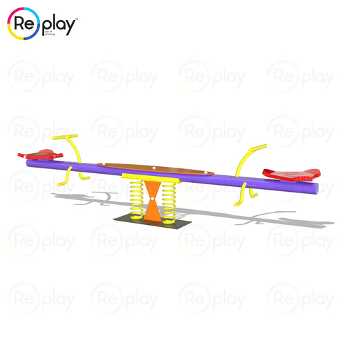 2 Seater Spring See-saw