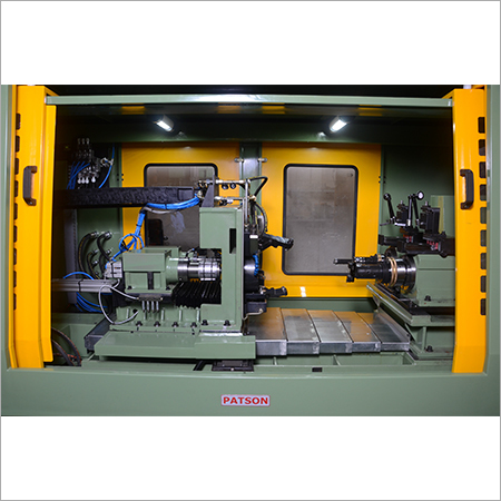 Horizontal Multispindle Boring Machine