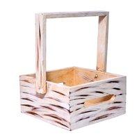 Home Decorative Purpose Wooden Fruit Basket