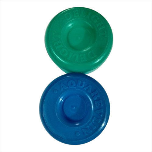 Plastic Name Embossed Water Jar Cap
