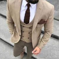 Mens 3 Piece Coat Pant
