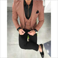 Mens Designer Three Piece Suit