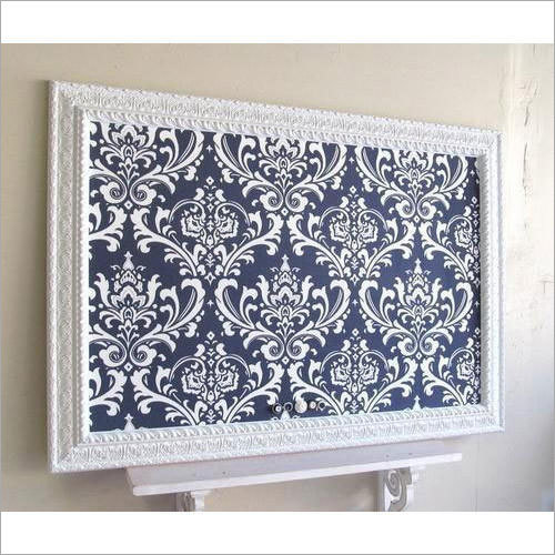 Decorative Framed Bulletin Board