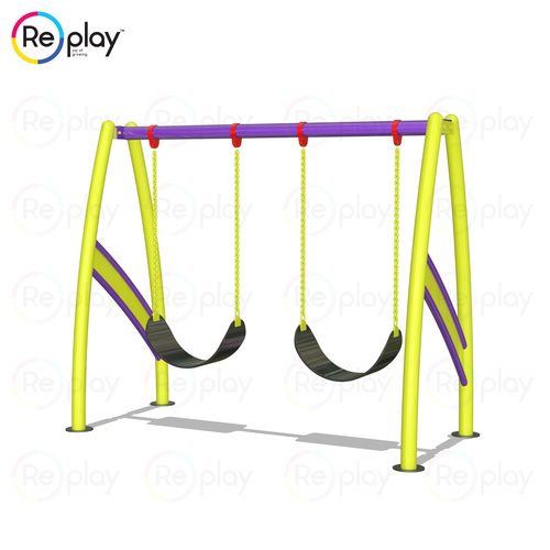 2 Seater Swing Rubber Belt