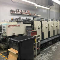 1987 Komori Lithrone L526 Offset Printing Machine
