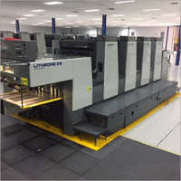 1996 Komori Lithrone 428 Offset Printing Machine