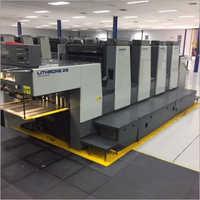 1996 Komori Lithrone 428 Offset Printing Machine