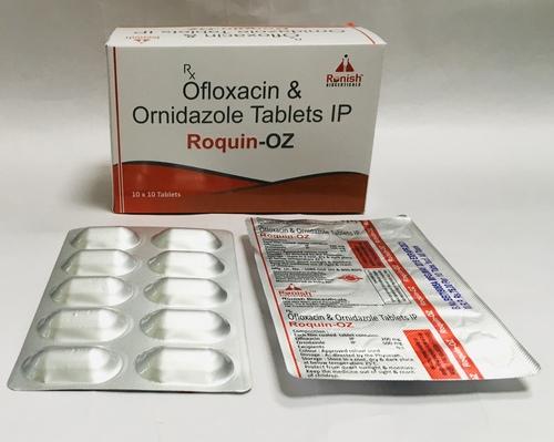 OFLOXACIN & ORNIDAZOLE TAB