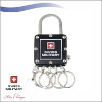 Swiss Military Black Multi-Keychain (KM5)