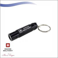 Mobile Stand Cum Key Chain Swiss Military LED Torch Keychain (KM7)