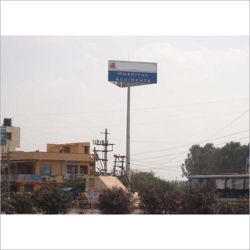 Signage High Mast Pole