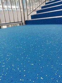slip-resistant waterproof mat for foot path/pool decking/bathroom
