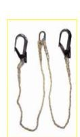JSL 205B Double Lanyard with scaffolding Hooks