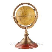 World Globe – Brass Ringed