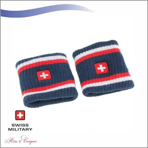 Swiss Military Super Sweat Absorbent, Stretchable Wrist Band (OC6)