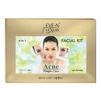 EVE-N LUXURY FACIAL KIT 6 IN 1 ACNE CARE WT. 320 G + 15 ML