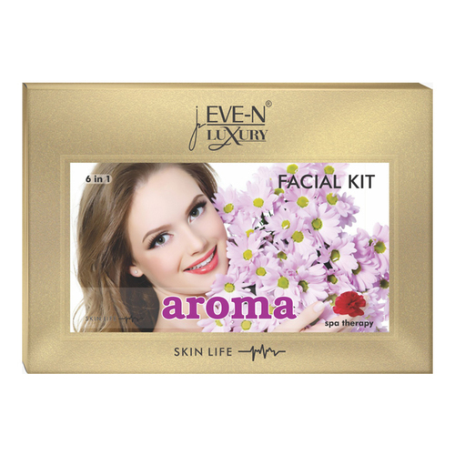 EVE-N LUXURY FACIAL KIT 6 IN 1 AROMA WT. 320 G + 15 ML
