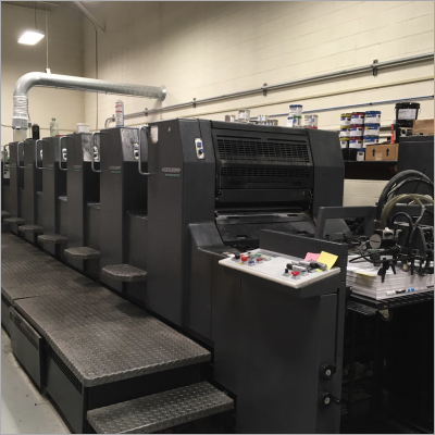 1996 Heidelberg Speed Master 74 S+L Offset Printing Machine