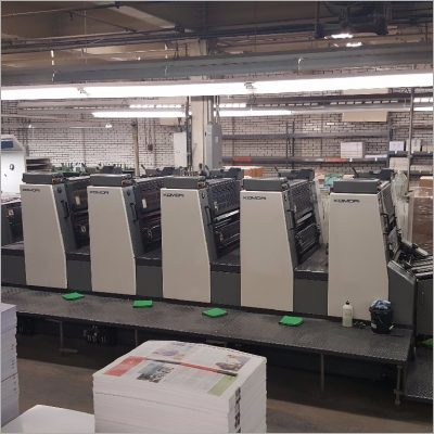 1999 Komori Lithrone L526 Offset Printing Machine