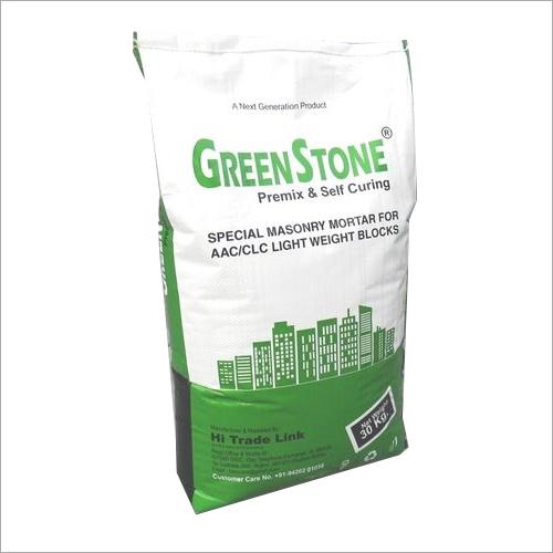 Greenstone Block Jointing Mortar Application: Masonry  Work