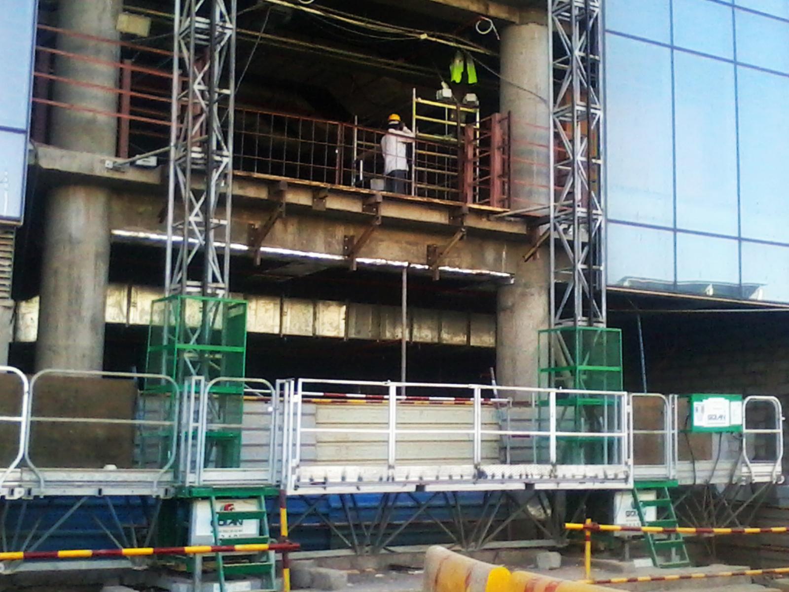 MCWP Mast Climbing Work Platform Jaso-Goin