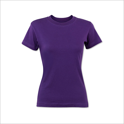 Ladies Purple T-Shirt