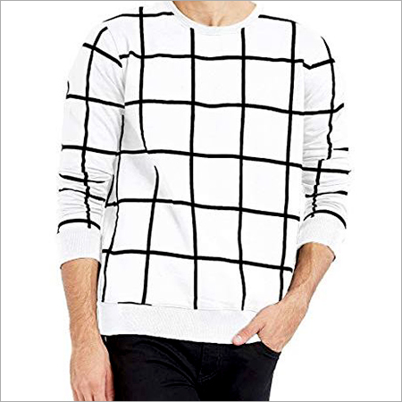 Mens Round Neck Full Sleeve T-Shirt