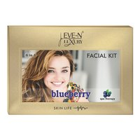 EVE-N LUXURY FACIAL KIT 6 IN 1 BLUE BERRY WT. 320 G + 15 ML